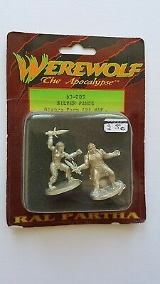 Ral Partha Werewolf The Apocalypse  Silver Fangs Glabro Form #69-005 F/sealed