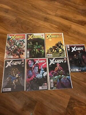 Astonishing Xmen #1-7