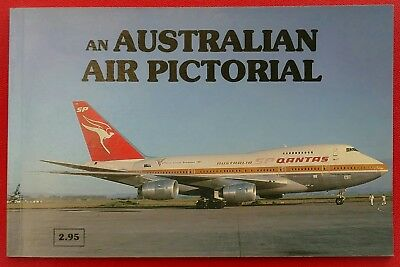 Vintage Australian Airlines Book + Two Photos - Ansett 727, Cathay Pacific 747
