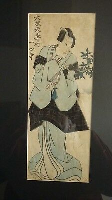 Japanese Woodblock print unsigned