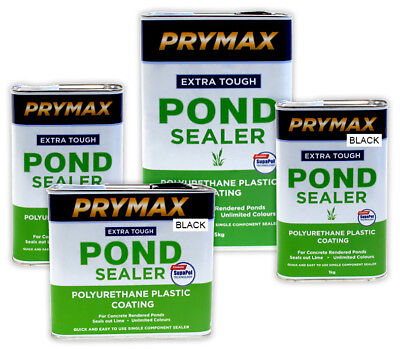 Prymax Pond Sealer Fish Paint Polyurethane Plastic Coating Water Feature seal