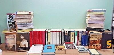 Library of 50 classic literature paperbacks - all in good condition or better