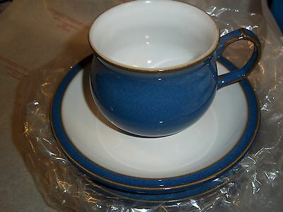 Denby Imperial Blue Tea cup & Saucer