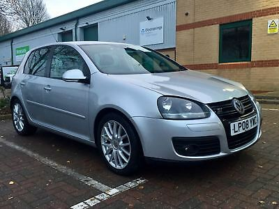 2008/08 Volkswagen Golf Gt 170 Manual + Full Leather + Heated Seats