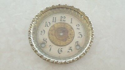 antique clock dial and bezel