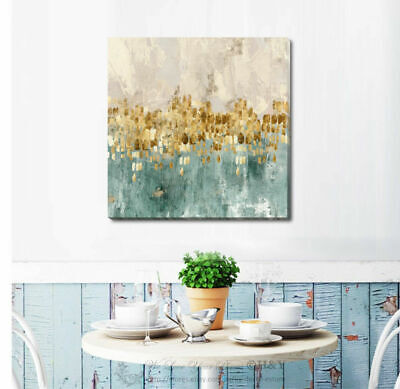 Abstract Stretched Canvas Print Framed Wall Art Hanging Home Office Shop Decor