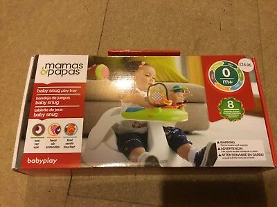 Mamas and Papas Baby Infant Snug Activity Tray - BNIB