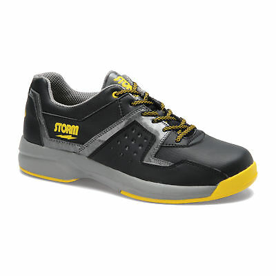 Herren Bowlingschuhe Storm Lightning black grey yellow, Gr. 44, Semi-Profi