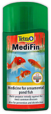 TETRA POND MEDIFIN 500ml SICK FISH TREATMENT DISEASE PARASITES BACTERIA FUNGUS