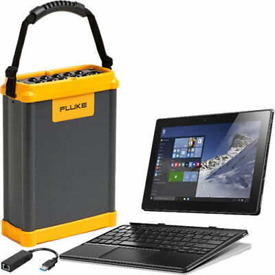Three-Phase Power Quality Recorder with Windows 10 Ethernet Tablet