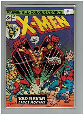 Uncanny X-Men (1963) #  92 (7.0-FVF) UK PRICE VARIANT (266451)