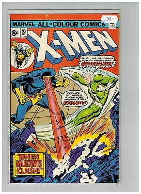Uncanny X-Men (1963) #  93 (7.5-VF-) UK PRICE VARIANT (266475)