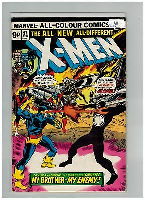 Uncanny X-Men (1963) #  97 (5.0-VG/FN) UK PRICE VARIANT (266499)
