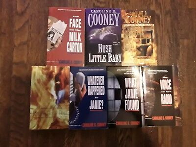 Lot of 7 Teen Young Adult Books - Caroline B Cooney Mystery Horror Suspense