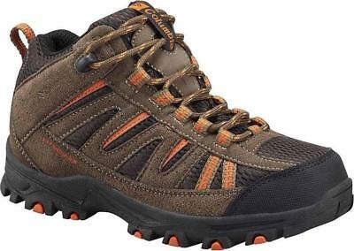 Columbia Youth Pigah Peak Mid Waterproof Hiking Boots Sz 6 Y, 7 Y, #by3234-255