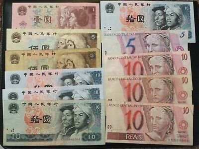 World Paper Money - Lot Of 81 Banknotes!