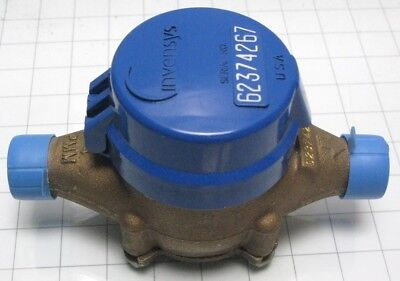 Invensys water meter 3/4 PMM direct reading gallons Sensus Precision Made in USA