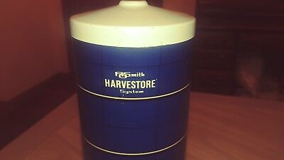 Rare Vintage AOSmith  Harvestore Systems Cardboard Silo Farm Toy Set 1/64