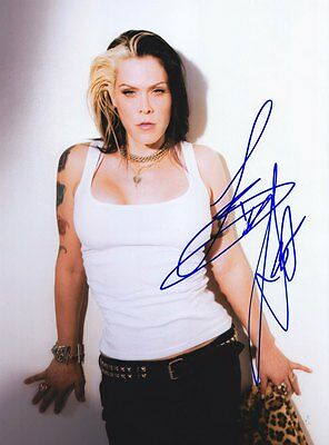 Beth Hart Very Rare Amazing In Person Signed W/Proof Coa