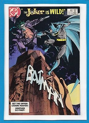 "Batman #366_December 1983_Fine/very Fine_""the Joker Is Wild""_Bronze Age Dc!"