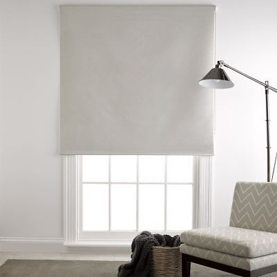 NEW freedom Silver Milton 120X210Cm Blockout Roller Blind, Silver
