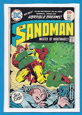 Sandman Master Of Nightmares #2_May 1975_Fine+_Jack Kirby Cover_Bronze Age Dc!