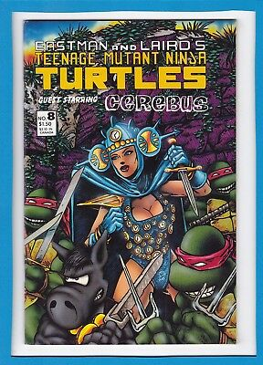 Teenage Mutant Ninja Turtles #8_1986_Near Mint Minus_Cerebus The Aardvark!