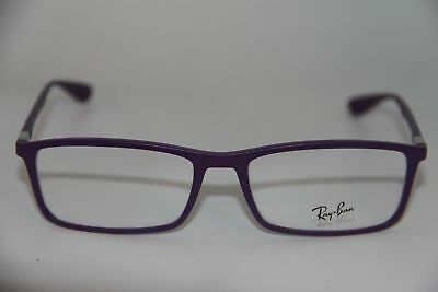 RAY-BAN RB 7048 5443 PURPLE FRAMES EYEGLASSES 53mm - 261