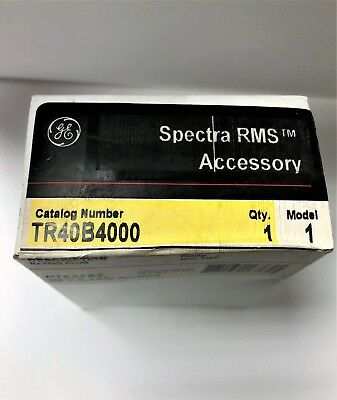 Ge General Electric Spectra Rms Rating Plug 4000 Amp Tr40B4000