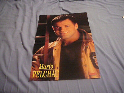 MARIO PELCHAT PIN UP POSTER PHOTO AFFICHE 11 x 16 CLIPPING #4