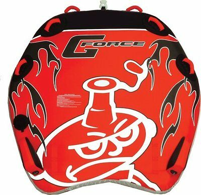 water ski tube AIRHEAD  G Force 3 P  towable- new+rope