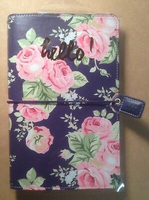 WEBSTERS PAGES Personal Travelers Journal NAVY FLORAL