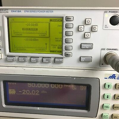 Agilent HP Keysight E4418A EPM Series Single Channel Power Meter A+ WORKING COND