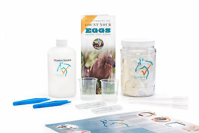 Eggzamin Fecal/Worm Egg Count Kit, McMaster Method, Step by Step Instructions