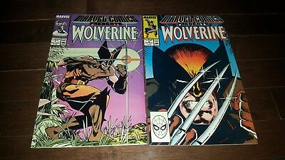 Marvel Comics Presents #1 #2 (1988, Marvel) VF+...WOLVERINE!!!!