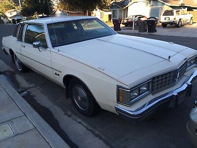 1985 Oldsmobile Eighty-Eight Royale Brougham 2 Door Delta 88 Brougham Coupe