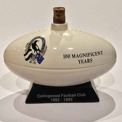 Collingwood Football Club Centenary Edition Port Decanter