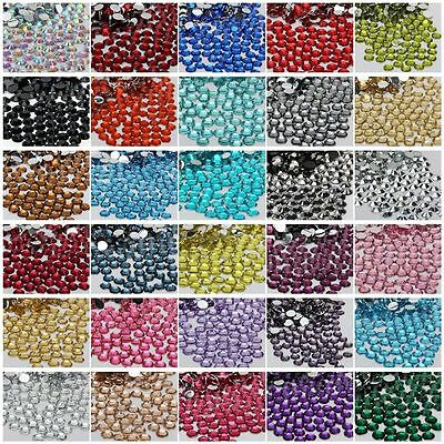 Wholesale 2000pcs Hotfix Iron On Flatback DMC Crystal Glass Rhinestone DIY 2mm