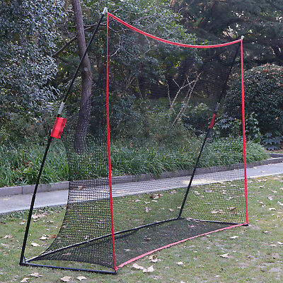 10 x 7FT Portable Golf Hitting Practice Net Driving Training Aids w/ Carry Bag