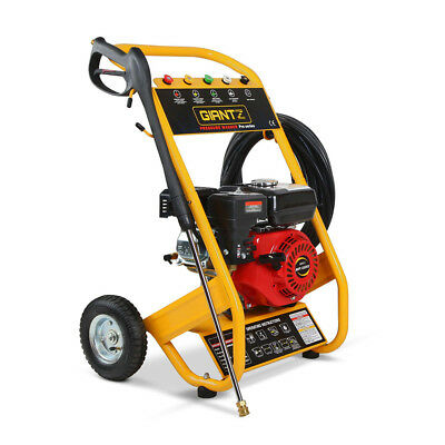 8HP 4800PSI High Pressure Washer Cleaner Petrol Water Gurney 20M Hose