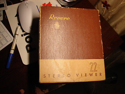 Revere With Box Working And Manual Why Buy& A Crapp?y Realist????????????????
