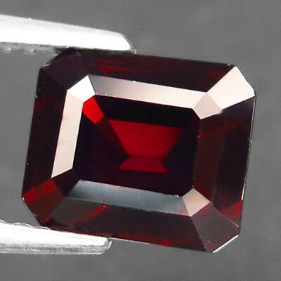 2.11ct.Attractive Gem! 100%Natural Gem Deep Red Spinel Unheated AAA Nice Nr!