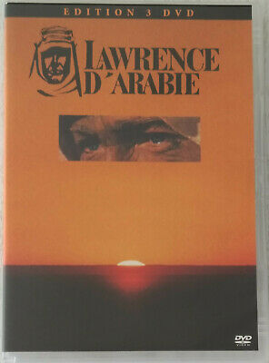 Dvd Collector Lawrence D'arabie (3 Disques)/David Lean/Peter O'toole/Omar Sharif