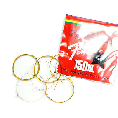 6pcs/set Acoustic Guitar Set of durable steel strings filled 150XL + 1pcs Pick