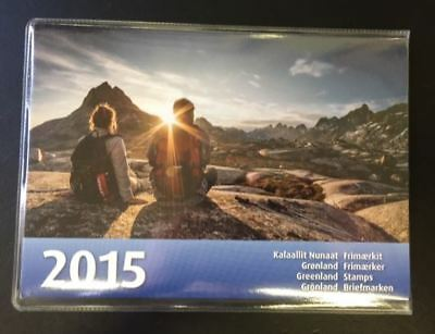 Greenland Post Official Year Set 2015 MNH Complete as Issued