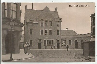 POSTCARDS-SCOTLAND-WICK-PTD. The New Post Office.