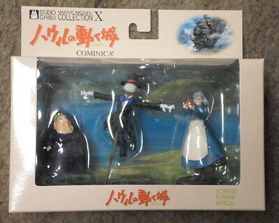 Howl's Moving Castle Image model collection X Sophie,Turnip, Witch Studio Ghibli