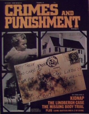 Crimes and Punishment weekly Number 4 - KIDNAP