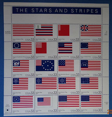 Scott #3403 Stars and Stripes Mint Sheet  ( Face Value $6.60 )