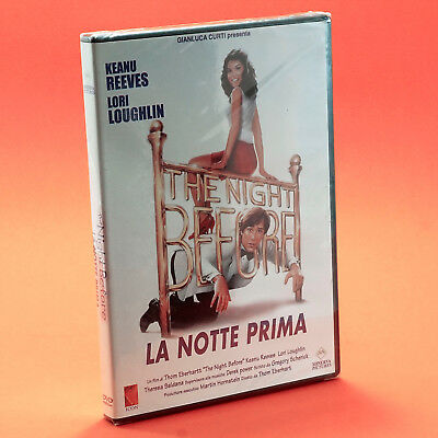 LA NOTTE PRIMA DVD KEANU REEVES LORI LOUGHLIN The night Before Thom Eberhardt